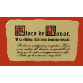 Placa Honorífica
